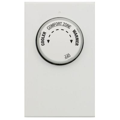 Double Pole 4-Wire Line Voltage Mechanical Thermostat